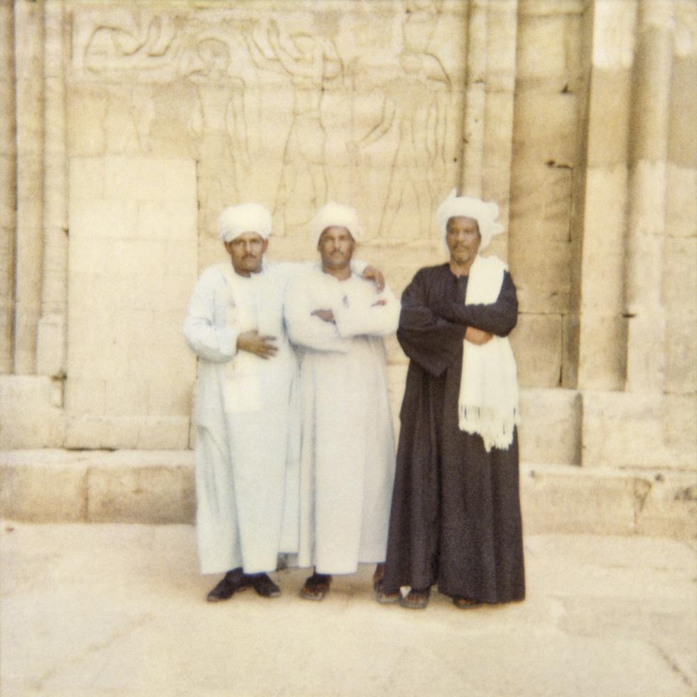 Tirage pigmentaire d'après Polaroid, format 60x60 et 30x30, Egypte 2007