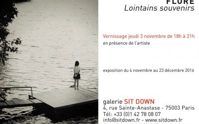 NOV. 16 – Lointains souvenirs à la galerie Sit Down – Paris
