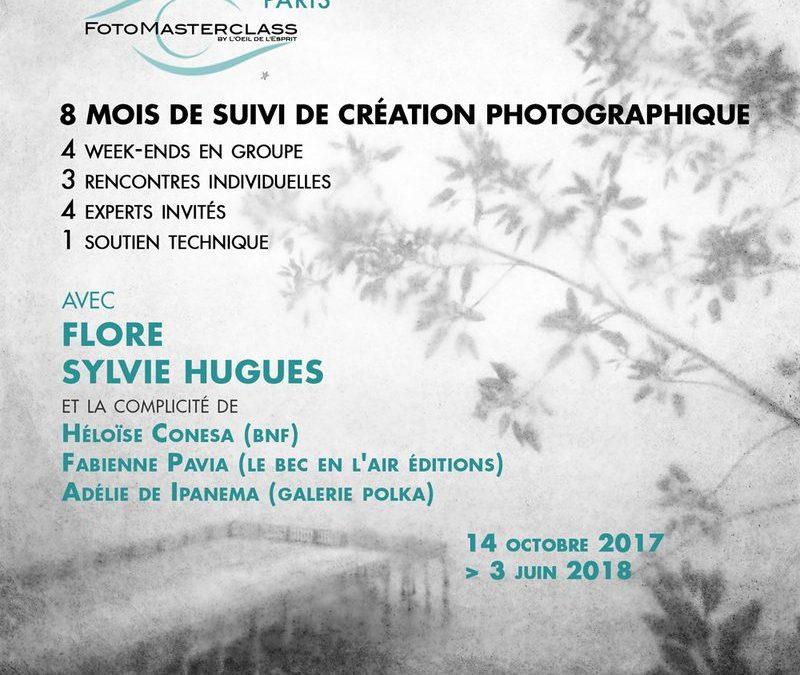 OCTOBRE 2017 – FotoMasterclass avec Sylvie Hugues