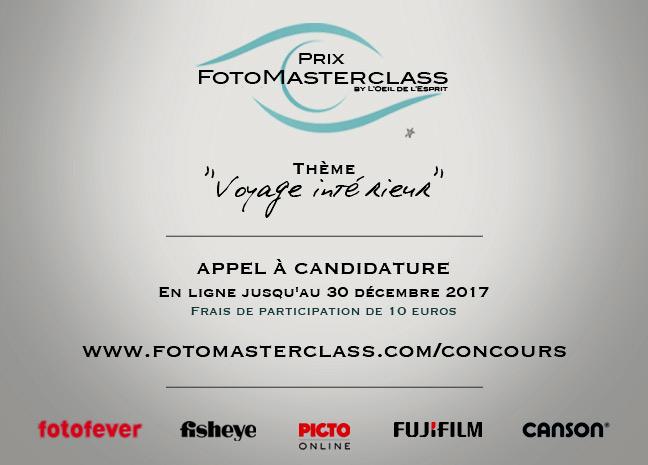 DÉCEMBRE 2017 – Le Prix FotoMasterclass